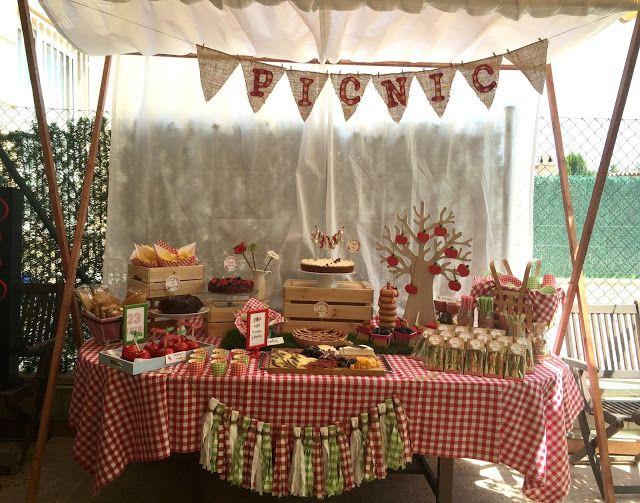 Fiesta de cumplea os campestre ideas geniales picnic - Ideas 18 cumpleanos chico ...