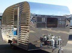trailer aluminum vintage siding