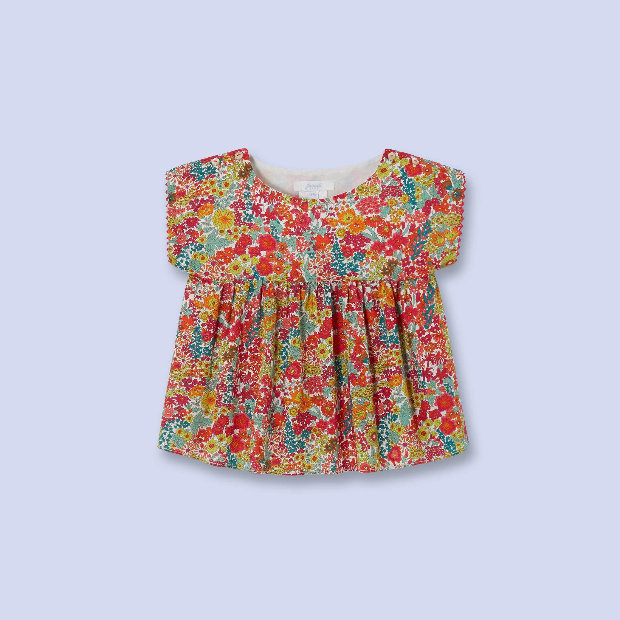 026a672b69af9 Blouse en tissu Liberty pour bébé, fille   My girl   Bebe, Vêtements ...