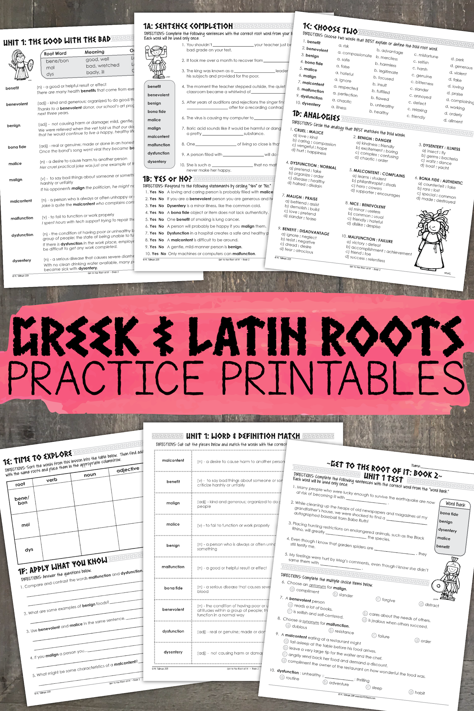 Greek And Latin Roots Book 2