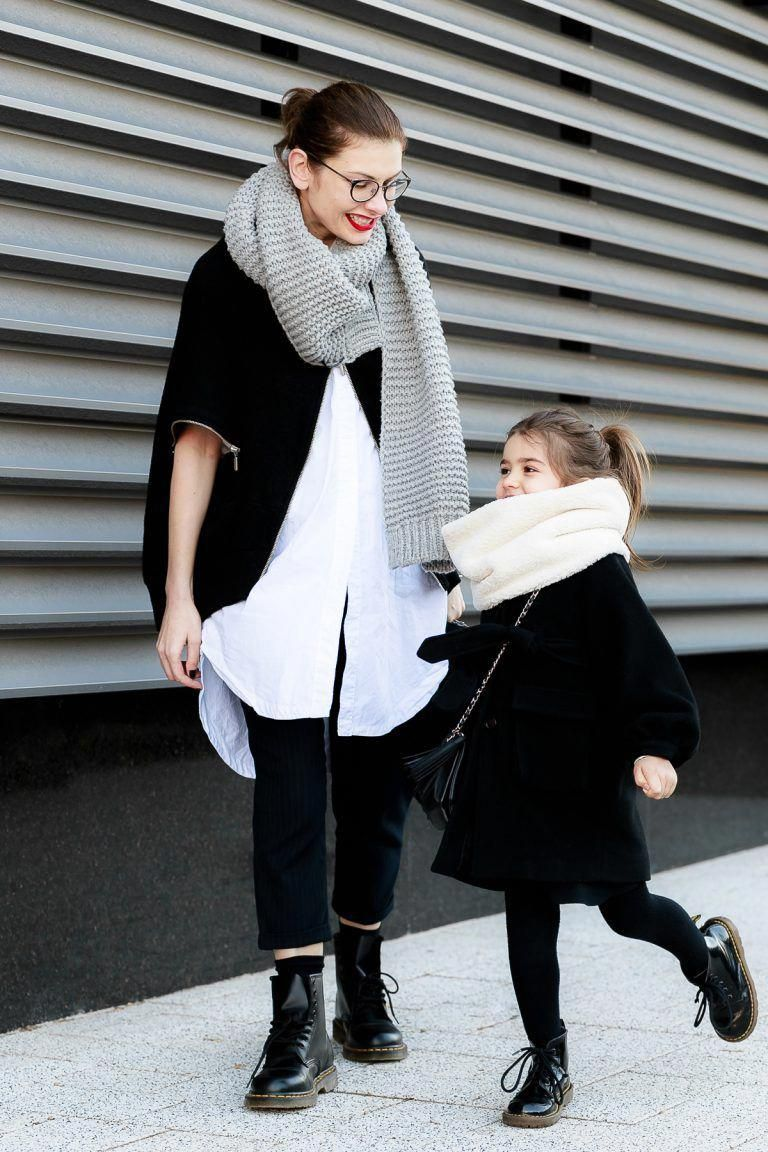 How To Wear Combat Boots Mother Daughter Mommy and Me