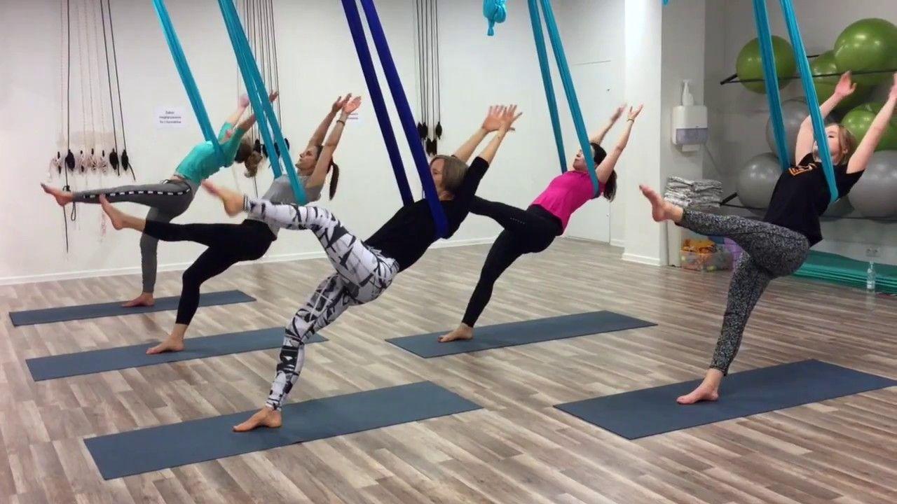 Aerial choreo - zajęcia vol. 1 - YouTube | Aerial yoga ...