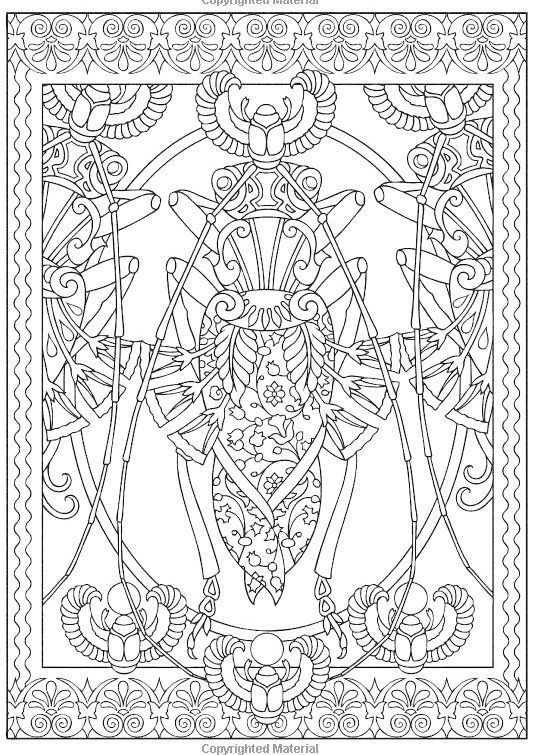 Insect Mandala Coloring Pictures Insect Coloring Pages Creative Haven Coloring Books Coloring Books