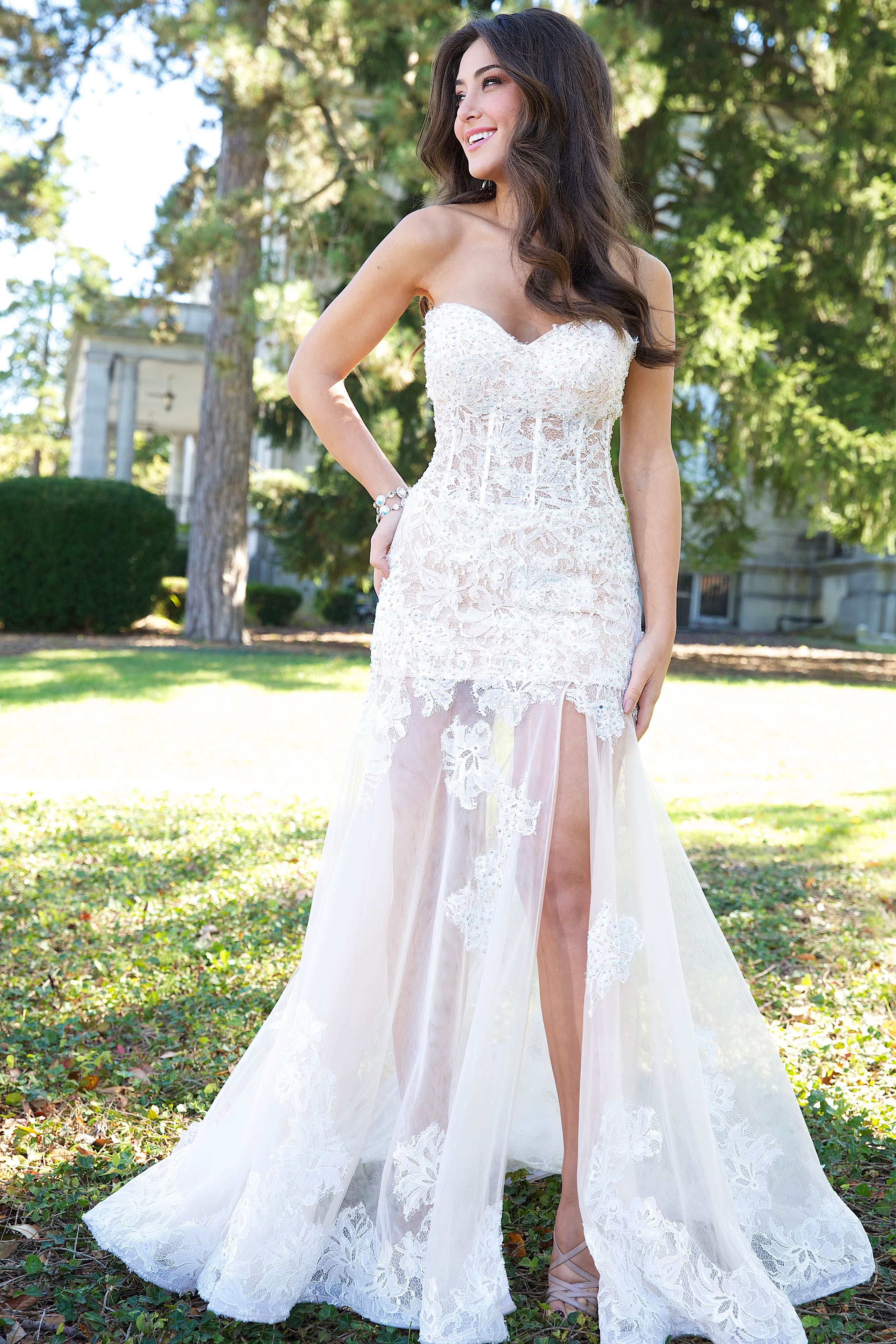 Jovani 77744 Jovani Dress 77744 Vegas Wedding Dress Las Vegas Wedding Dresses Mermaid Prom Dresses Lace