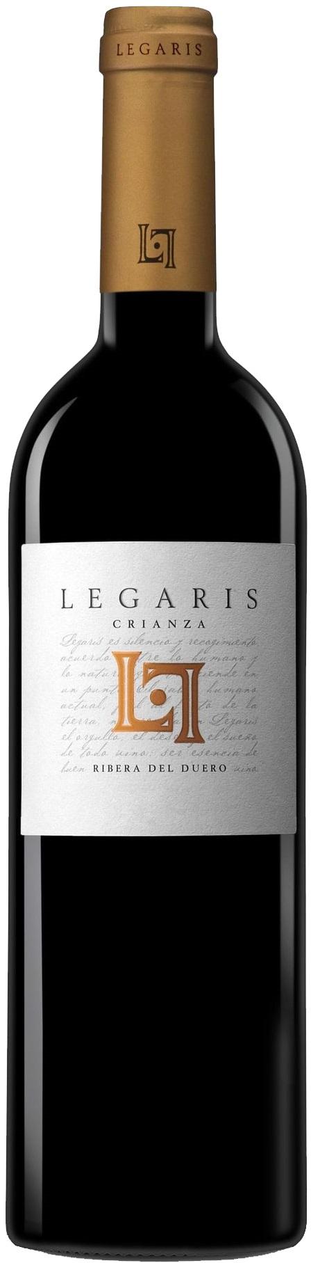 Legaris Crianza Tempranillo 2009 Bodega Legaris Curiel De Duero Castillo Y León Terroir Ribera Del Due Sauvignon Cabernet Sauvignon Vinos