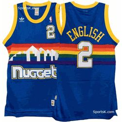 the latest 14c11 f8a2f denver nuggets jersey throwback