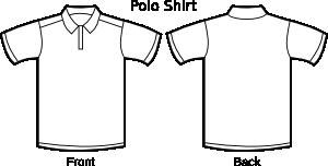 Polo Shirt Template   Polo Shirt Template Patterns And Templates Kalip Ve Sablonlar