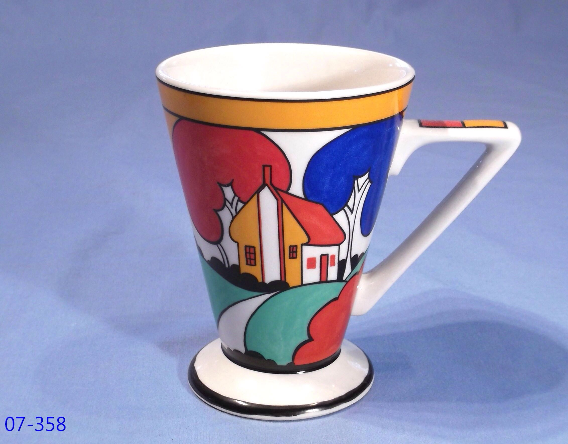Tall Cup Clarice Cliff