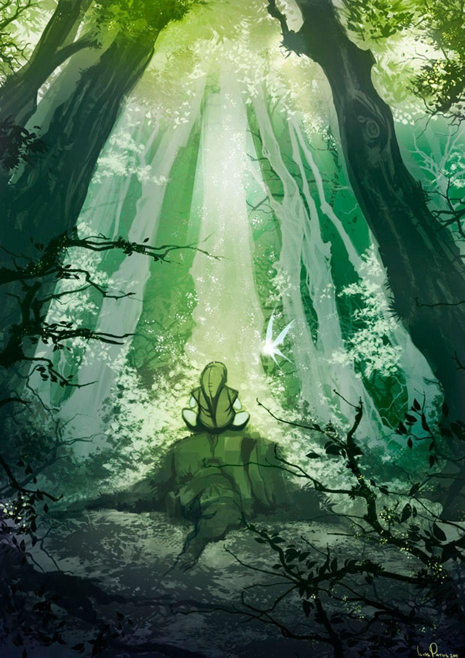 The Lost Woods Legend Of Zelda Legend Zelda Tattoo