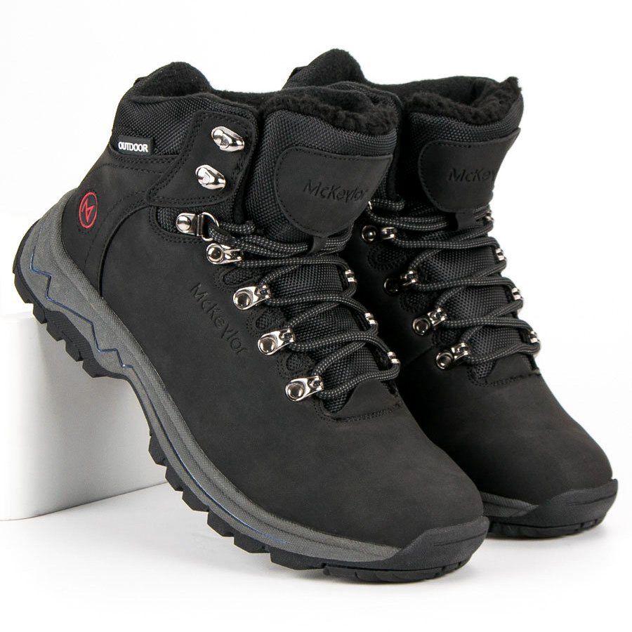 Trekkingowe Meskie Mckeylor Mckeylor Czarne Zimowe Obuwie Mckeylor Timberland Boots Hiking Boots Boots