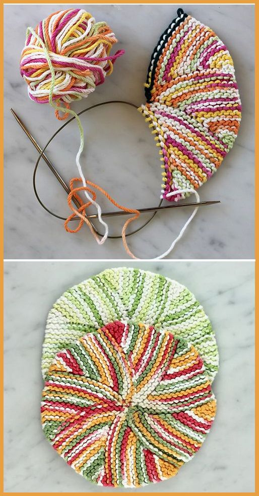 Photo of Easy as Pie Dishcloth – Free Pattern