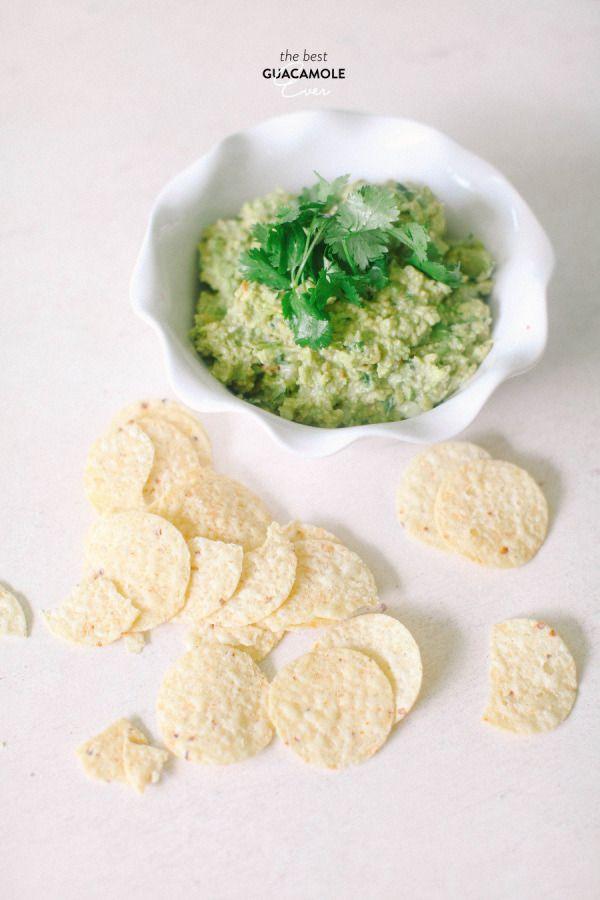 The best ever homemade guacamole recipe.