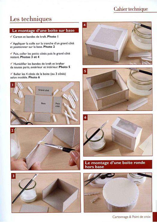 Gallery Ru Foto 9 Dlya Doma 4 Fleur55555 Cartonnage Boite Cartonnage Tutoriels Cartonnage