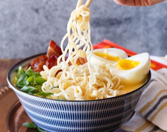 Bacon, Egg, and Cheese Breakfast Ramen Recipe
