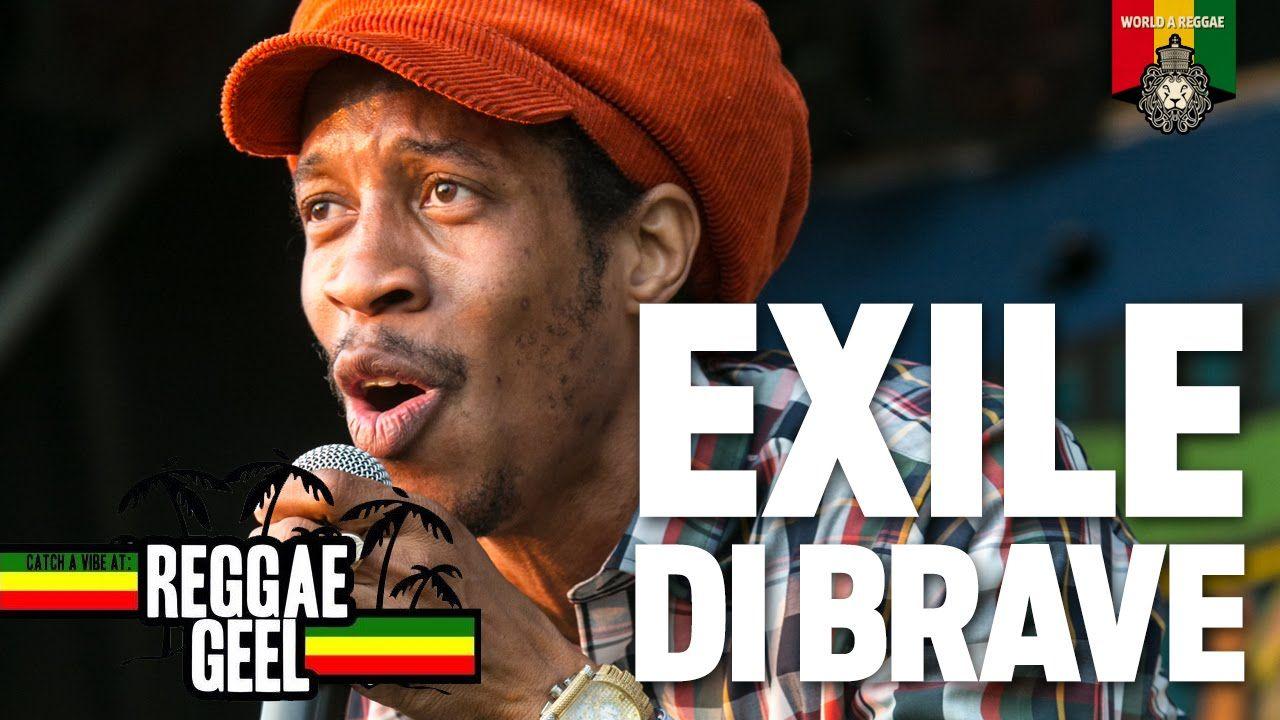 Exile Di Brave Live at Reggae Geel 2015
