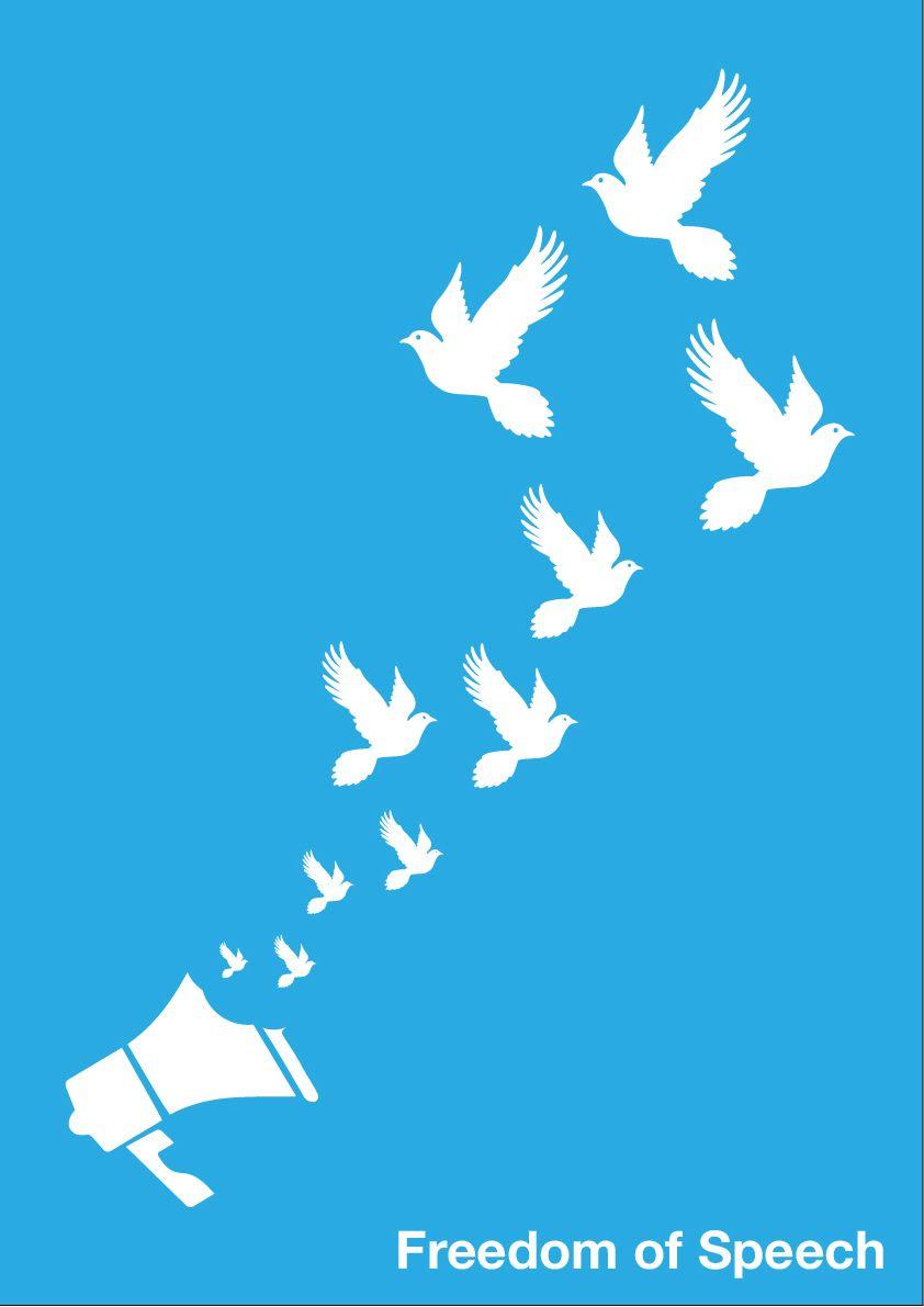Freedom Of Speech Poster | Zazzle |Freedom Of Speech Poster Ideas