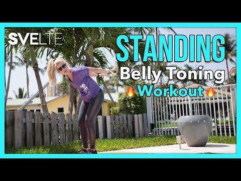 Standing Belly Toning Workout