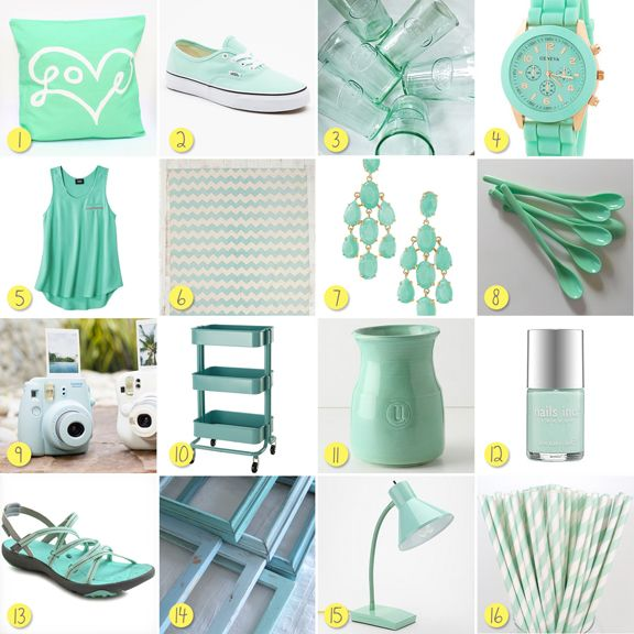 Minty Fresh Finds My New Spring Color Crush Mint Green
