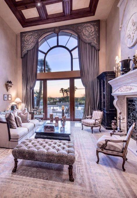Old World, Mediterranean, Italian, Spanish U0026 Tuscan Homes Design U0026 Decor  Living Room