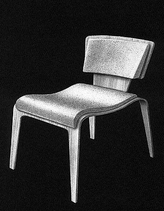 d0e67f38ba628 Raymond Loewy - Loewy Plywood Chair