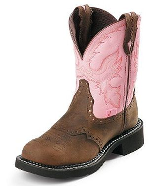 I love my work boots by Justin Boots Ladies Gypsy collection.