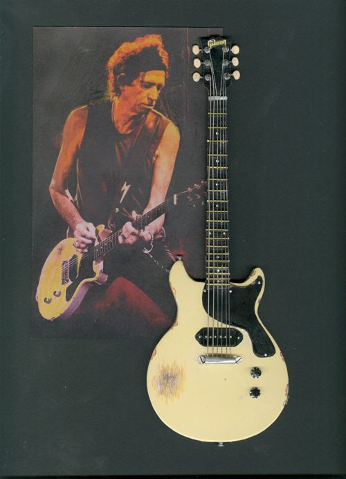 Keith Richards Gibson Les Paul Jr | Guitar | Pinterest