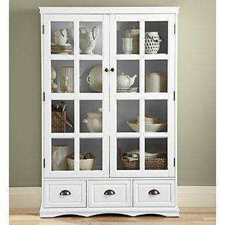 Tea Set Display Saunders Cabinet From Through The Country Door Cabinet Furniture Kitchen Dining Furniture