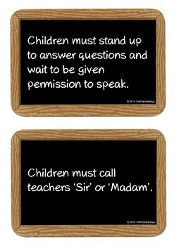 Victorian School Rules School Rules Teaching Resources Primary Classroom Displays