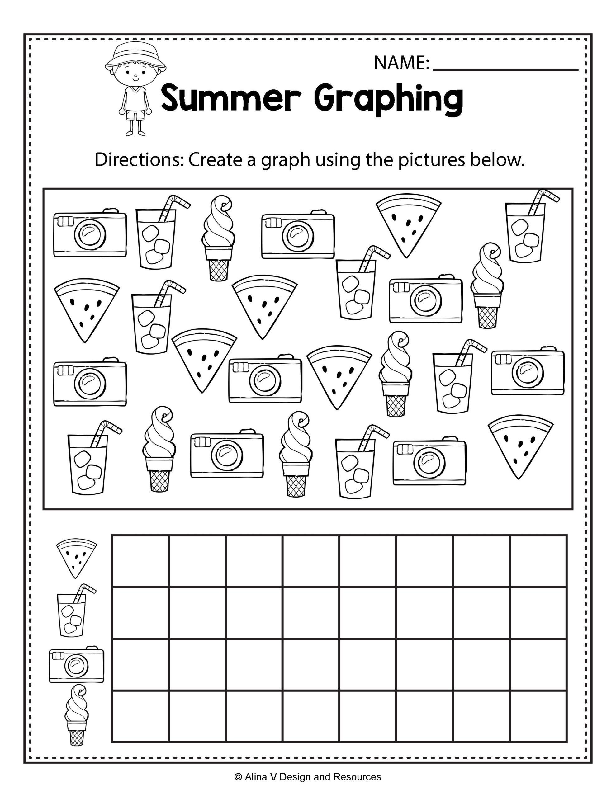 Worksheets For Kindergarten Writing
