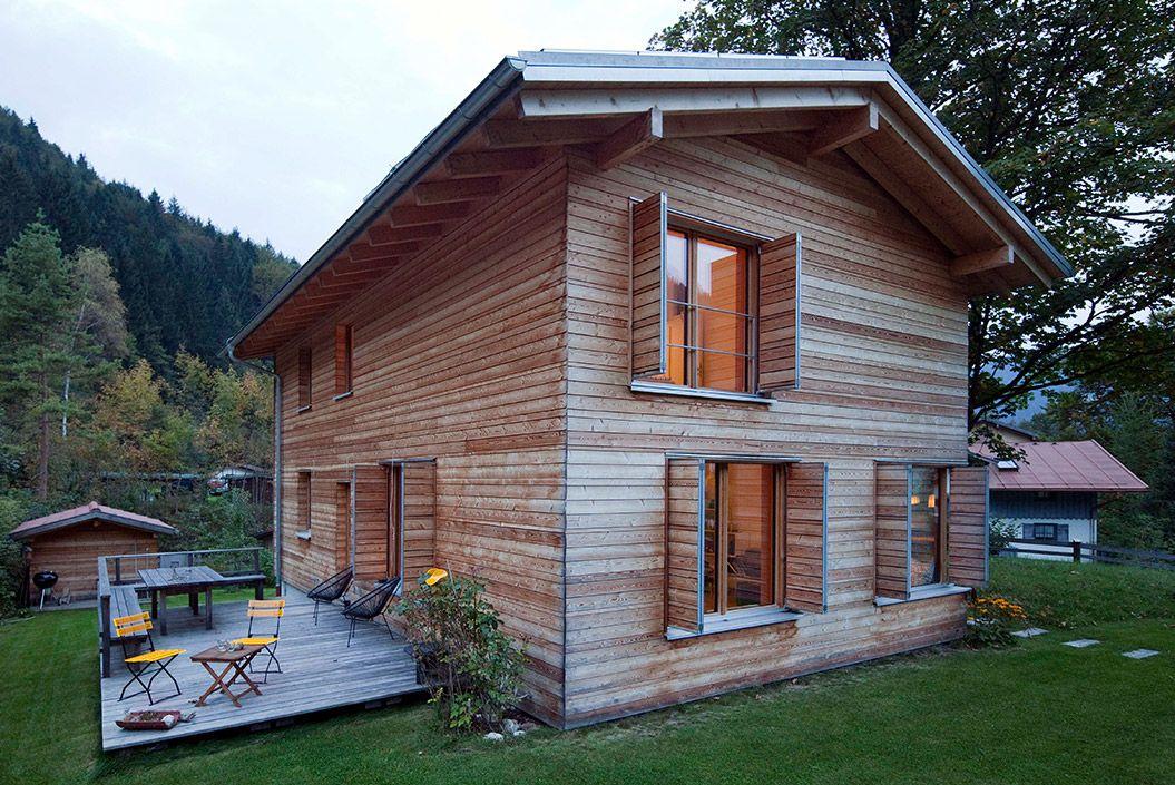Holzhäuser Bayern holzhaus in schliersee bayern niedrigenergiehaus 115 qm