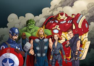 Czajnik's Workshop: Avengers assemble!!!