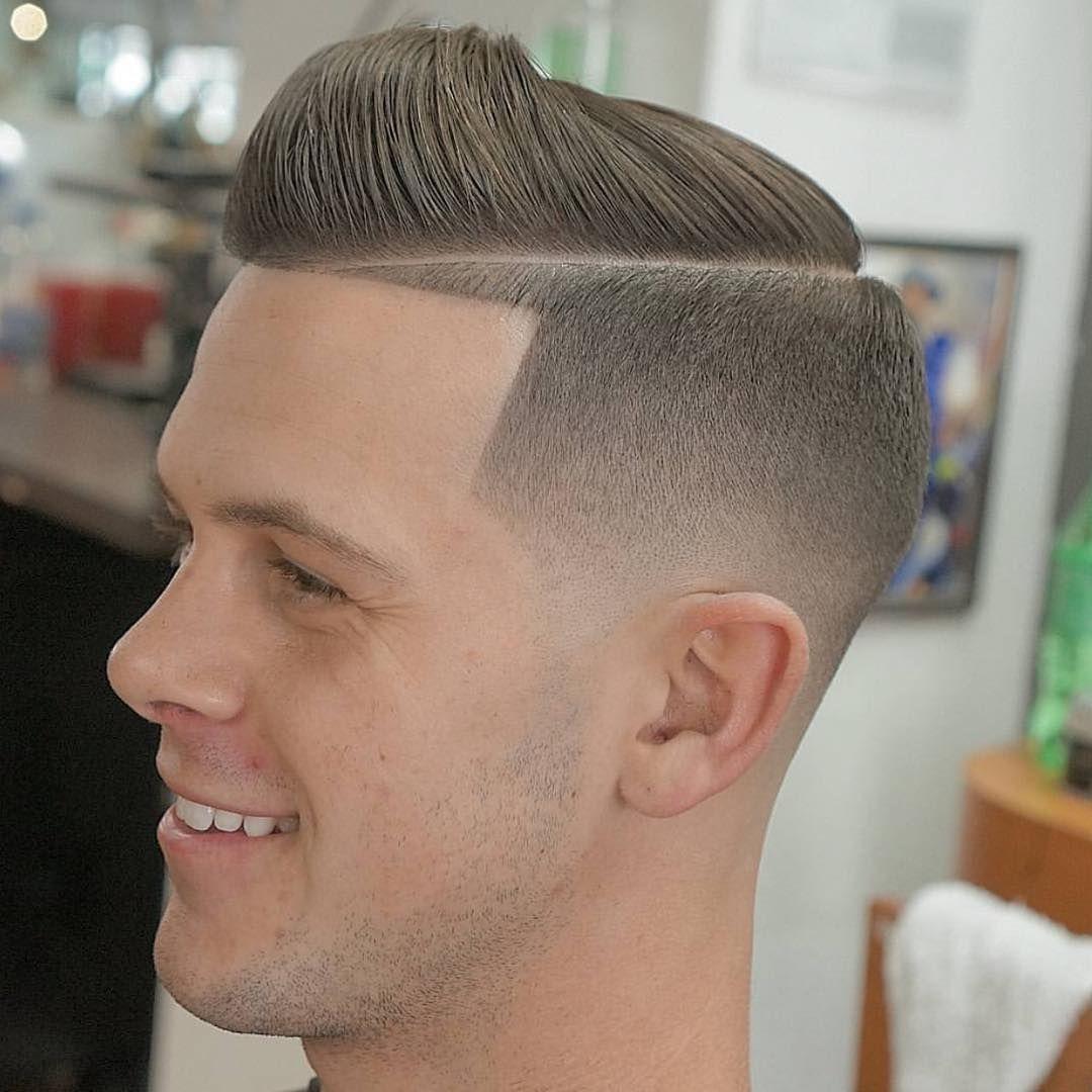 Top 25 Mens Haircuts Hard Part Hard Part Haircut High Fade