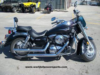 2008 KAWASAKI VULCAN 1600 NOMAD, ONE OWNER, VERY MAINTAINED, SHIELD, PIPES, BACKREST #USED #MOTORCYCLE