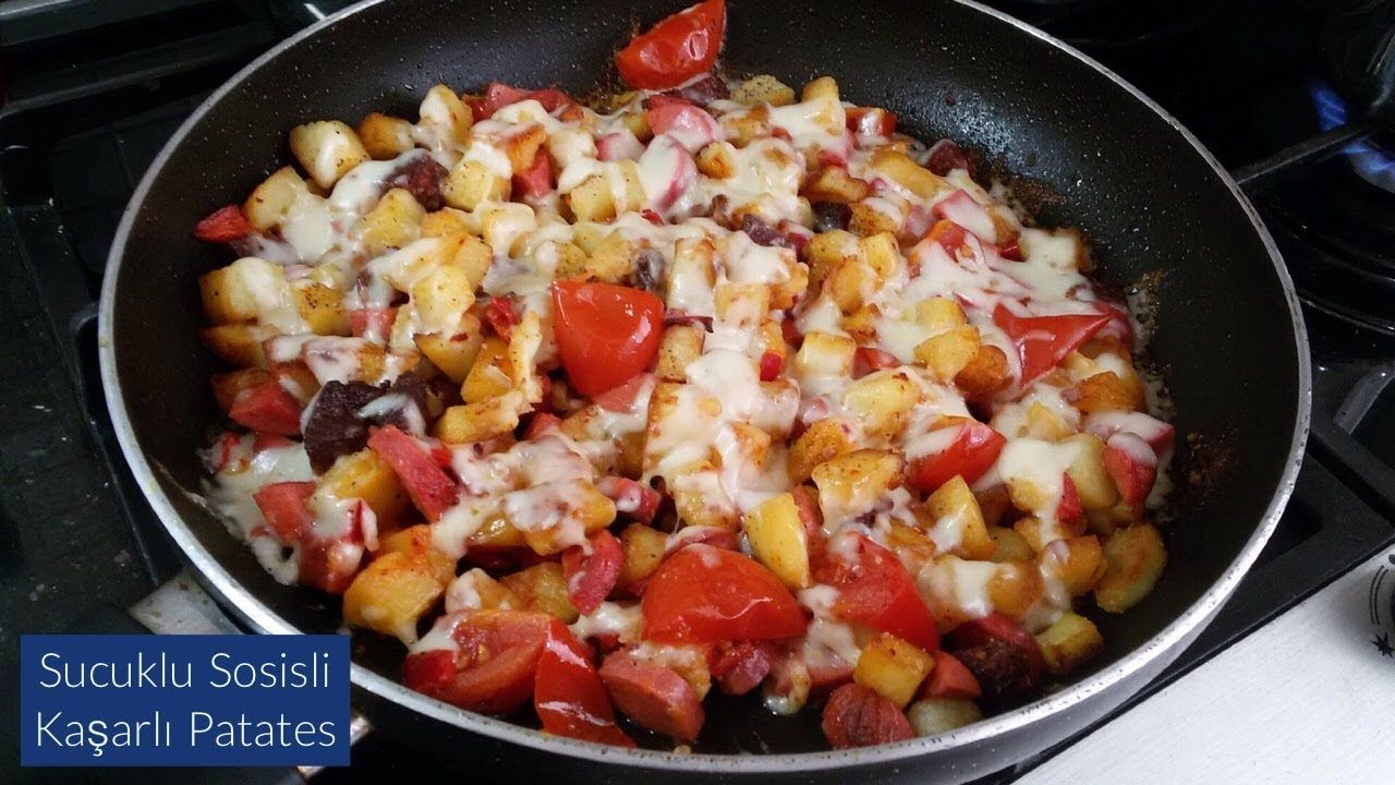 Sosisli Patates Yemeği