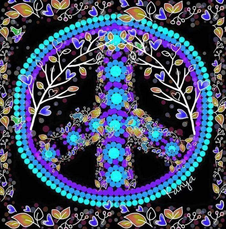 Peace Hippie Art ✌️