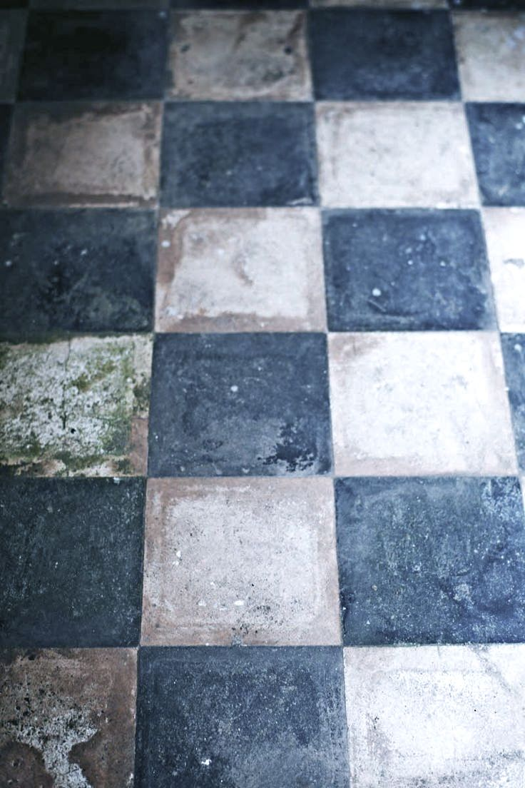 old painted pammit tile floors | For the Home | Pinterest | Tile ...