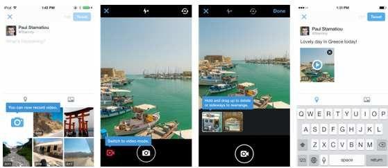 Twitter permite grupos y grabación de vídeo en su aplicación.En los próximos días desplegaran estas funciones en la app de Android e iOS