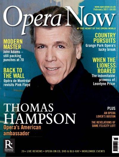 Opera Now #217 : Thomas Hampson