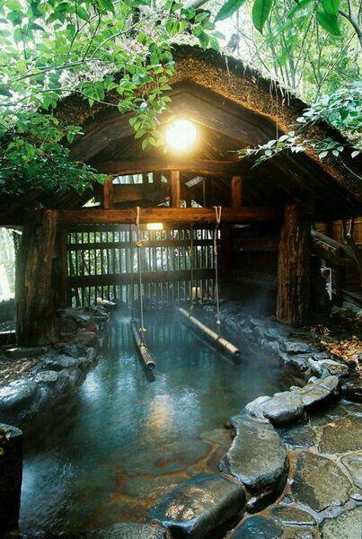 Kurokawa Onsen Japanese Hot Springs Japanese Garden Onsen Japan