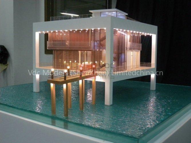 Nurai Water Villa Abu Dhabi Architectural Scale Model