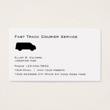 Courier Service Business Design Business Card Zazzle Com Courier Service Business Business Design Business Card Design