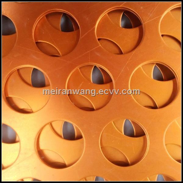 Powder Coated Aluminium Perforated Panel For Facade Wmr005 China Aluminium Perforated Panel For Facade Aluminum Perforated C Powder Coating Paneling Facade
