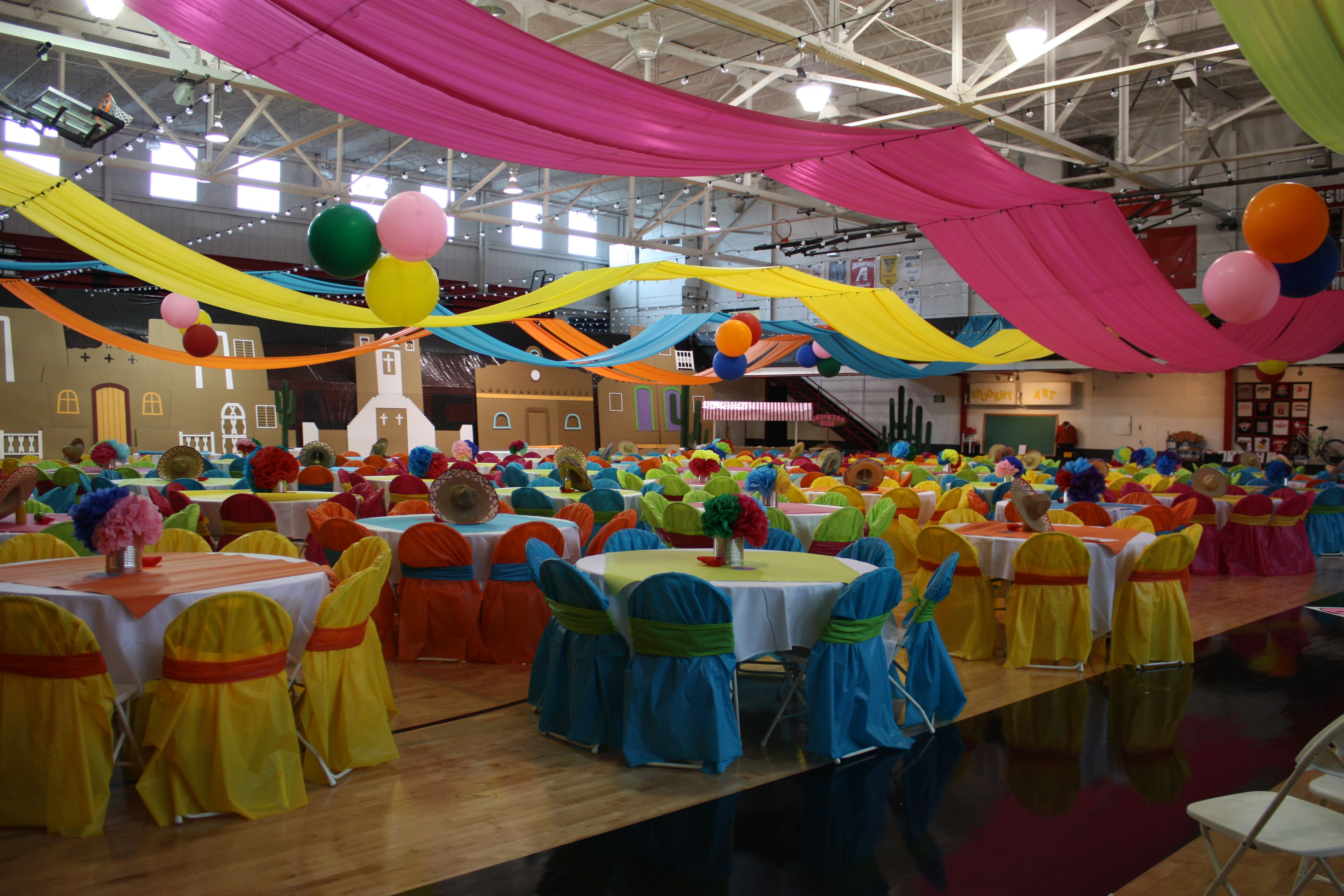 Mexican christmas party decorations - Mexican Theme Parties
