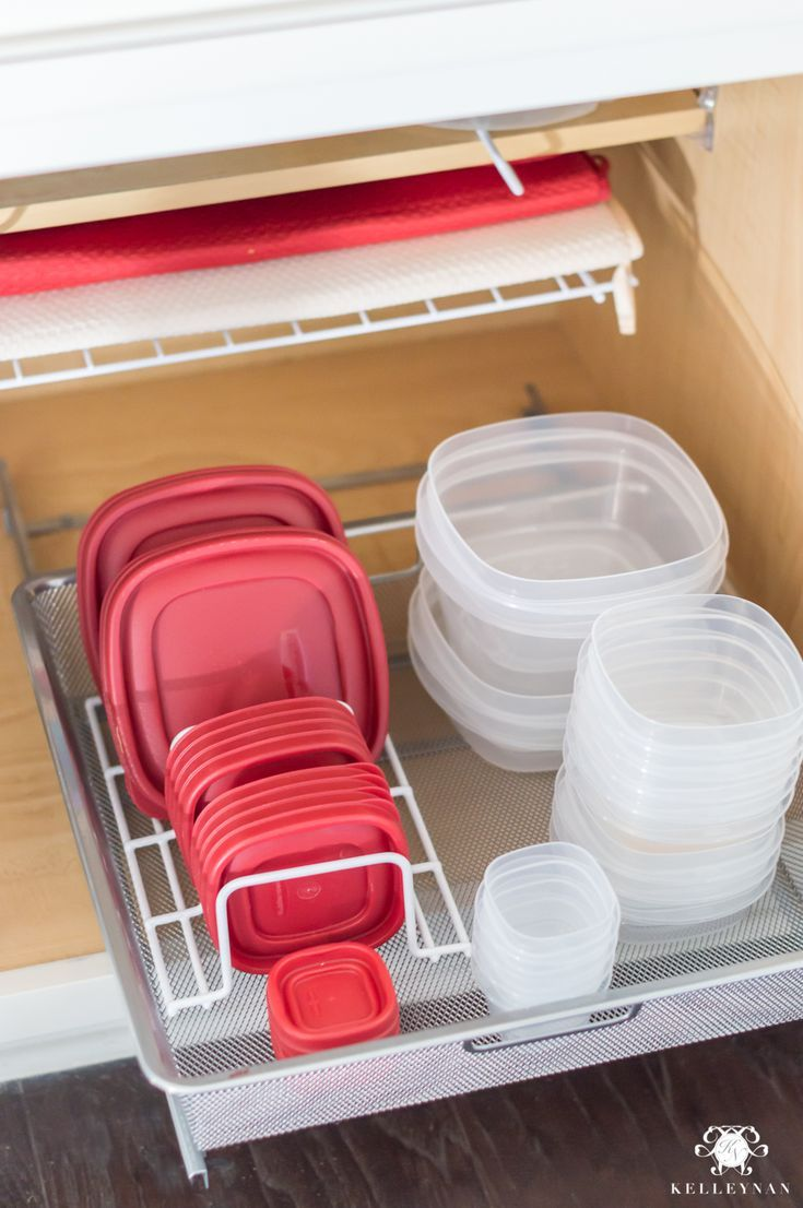 Organization Ideas For The Entire Kitchen Every Nook Cranny From The Pantry To Under The Sink Kelley Nan Food Storage Containers Organization Kitchen Storage Containers Kitchen Drawer Organization
