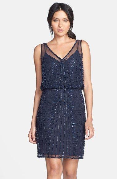 Adrianna Papell Beaded Dress on shopstyle.com