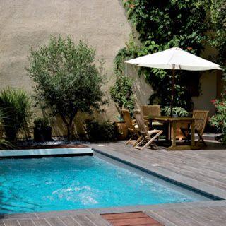 Modelos de piscinas peque as para bajos presupuestos y - Ideas para jardines pequenos fotos ...