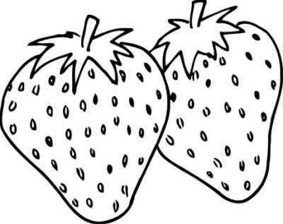 Dibujos Alimentos Fotos Imagenes Fotos De Fresas Coloring Pages Fruit Coloring Pages Strawberry Color