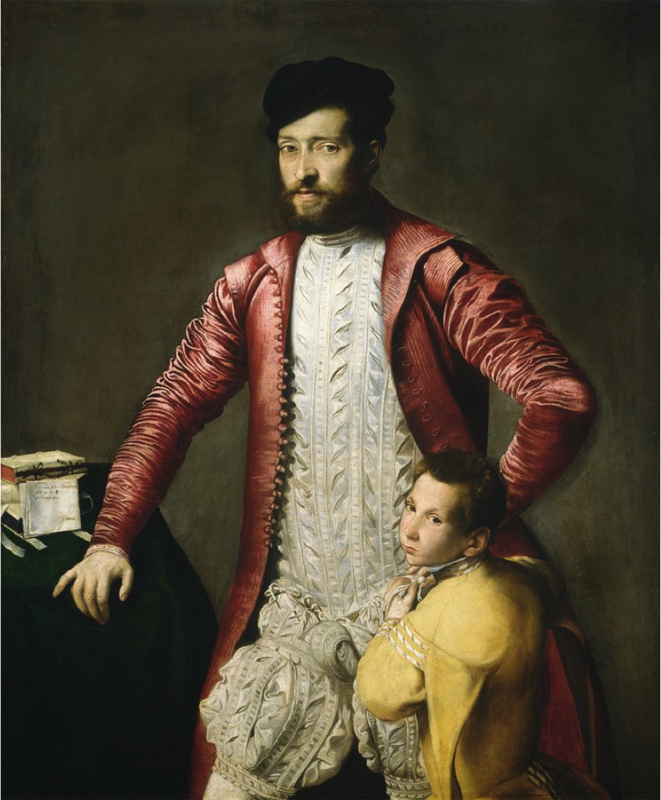 Upper Stocks Breeches Trunk Hose Portrait Male Portrait 16th Century