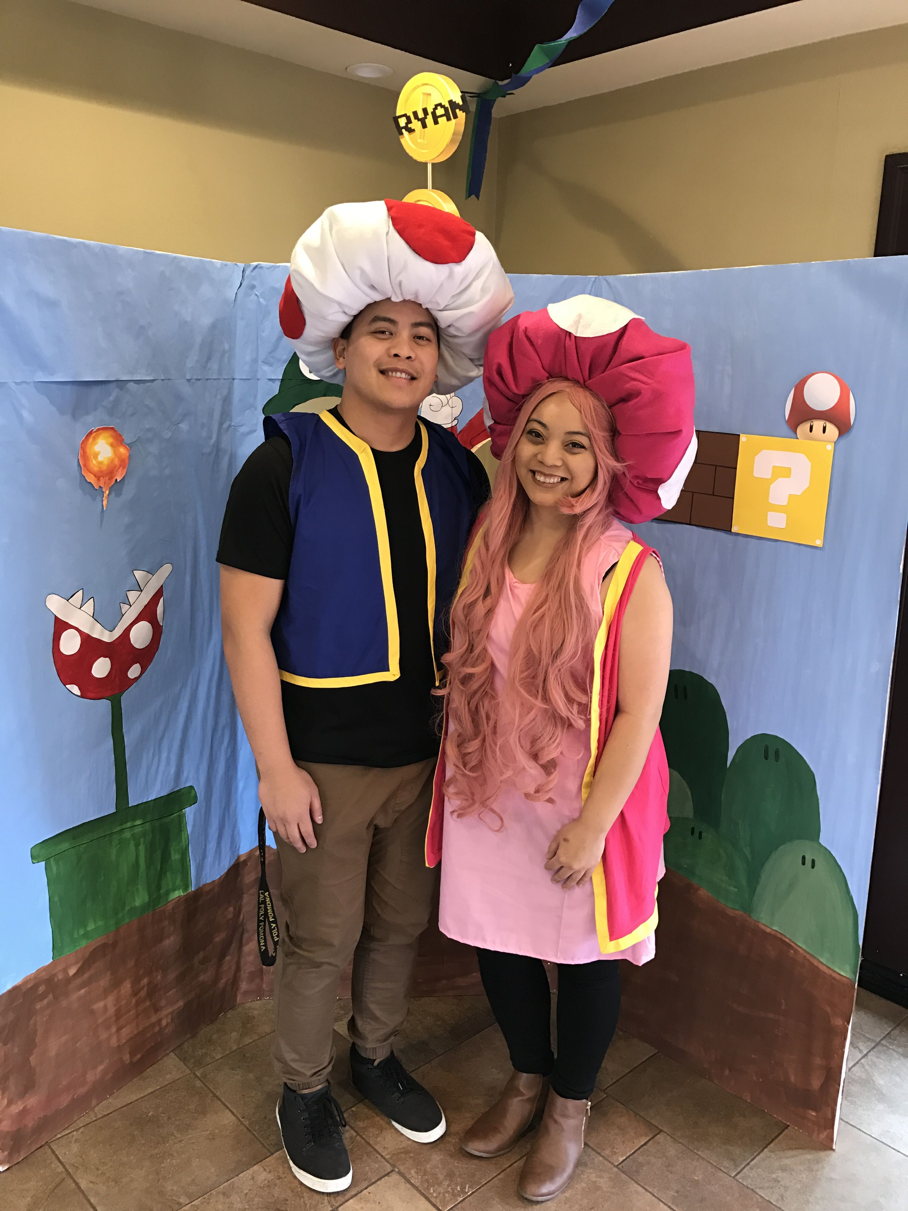 DIY Toad and Toadette costumes | My creations in 2019 ...