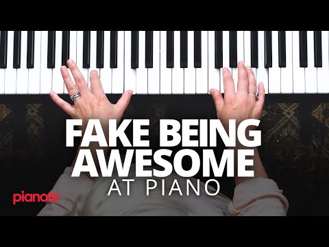 How To Fake Being Awesome At The Piano YouTube Piano